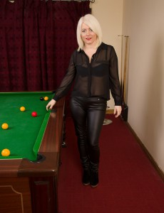 43 Year Old Amber Jewell from  Onlyover30 Displays Ideal Pink Here